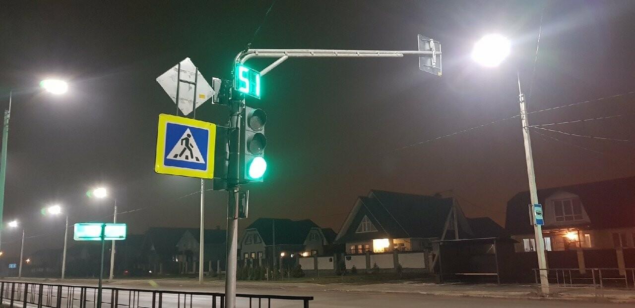 В Тамбове в микрорайоне Радужный заработал первый светофор, фото-1