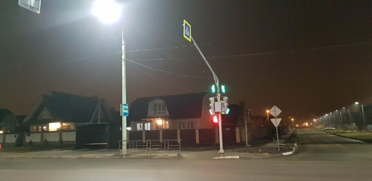 В Тамбове в микрорайоне Радужный заработал первый светофор, фото-2