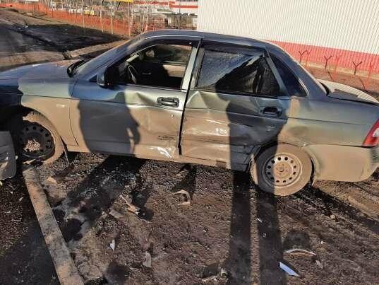 На трассе Р-22 «Каспий» под Тамбовом столкнулись две «Лады», пострадала женщина, фото-1