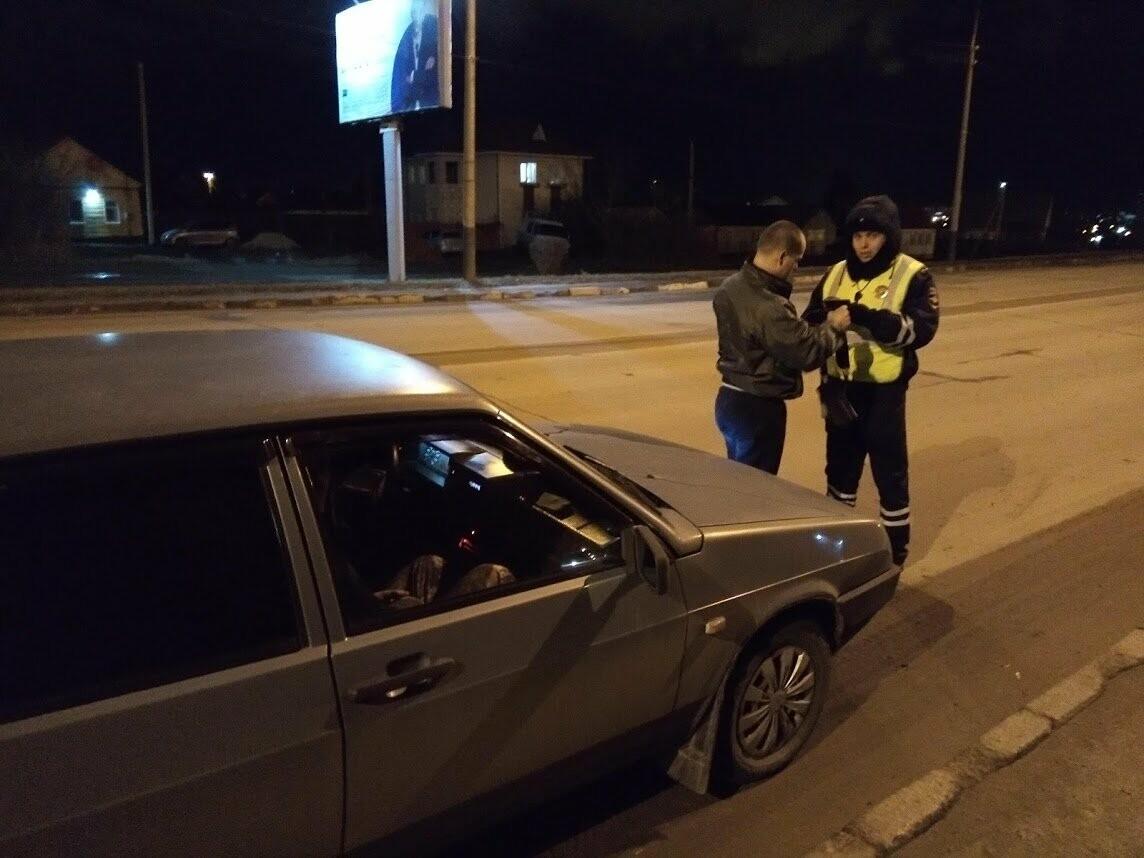 Тамбовские инспекторы вышли в рейд по нетрезвым водителям, фото-5