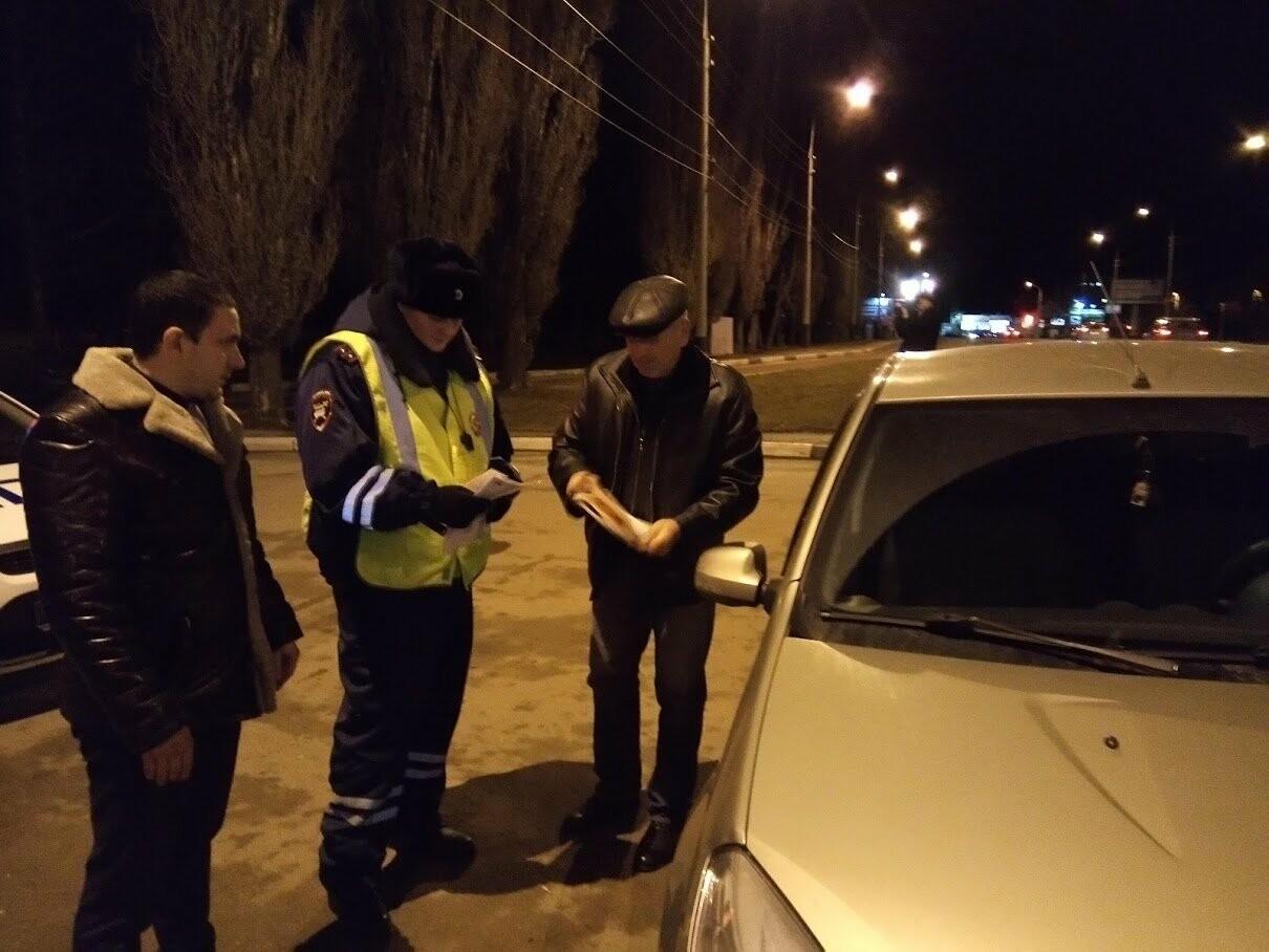 Тамбовские инспекторы вышли в рейд по нетрезвым водителям, фото-6