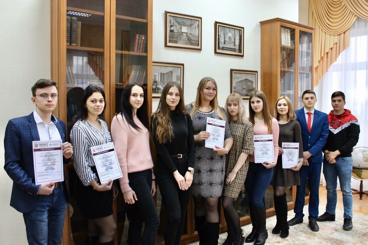 Студенты Тамбовского филиала РАНХиГС приняли участие в коллоквиуме, фото-2