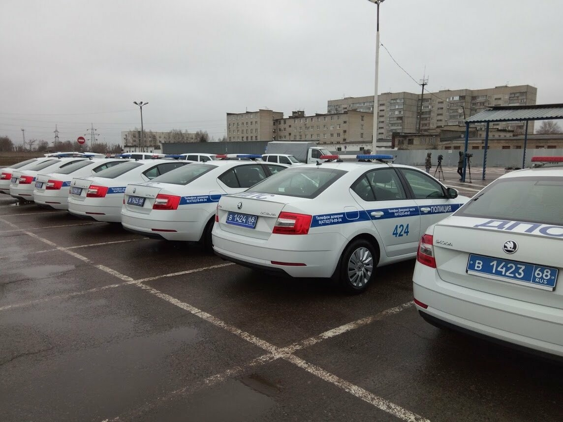 Тамбовские полицейские получили 22 новых служебных машины , фото-4
