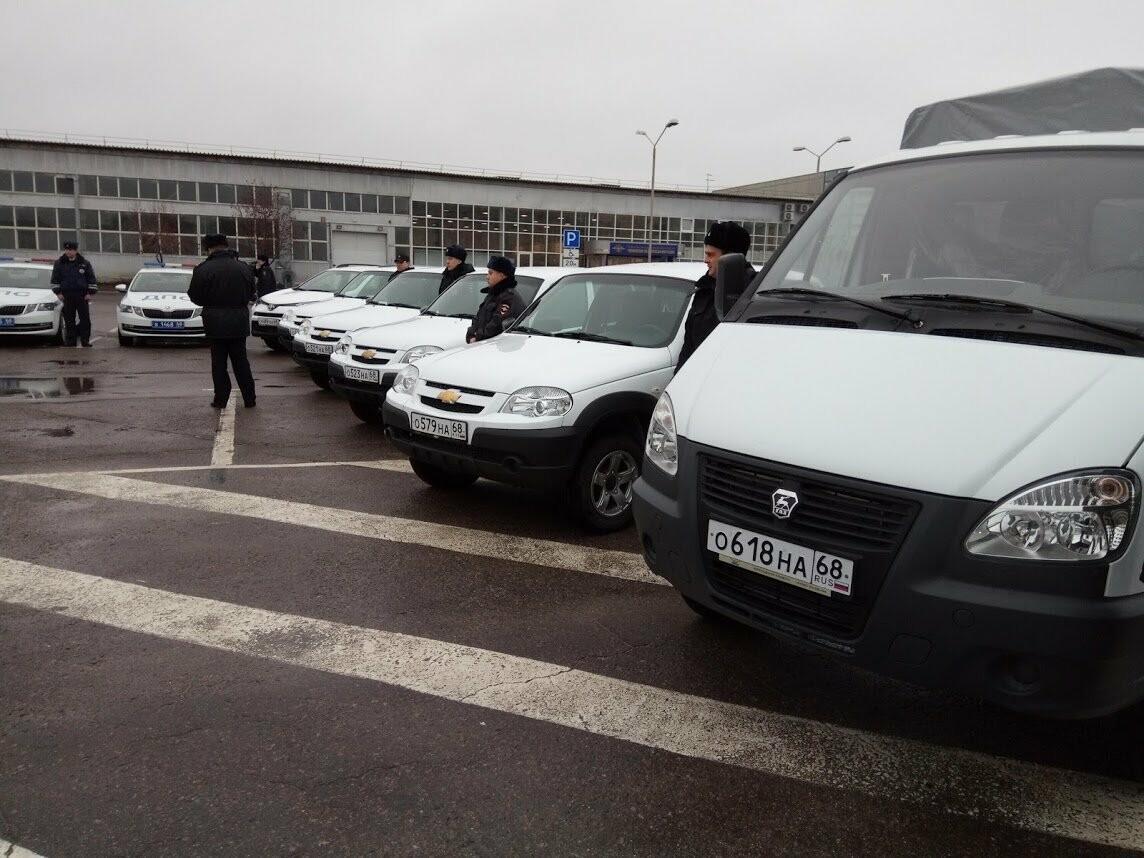 Тамбовские полицейские получили 22 новых служебных машины , фото-5