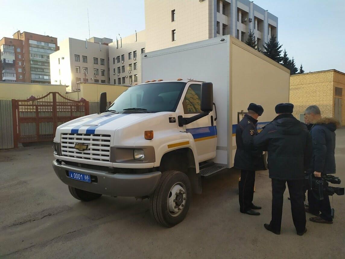 Тамбовские полицейские получили современную мобильную криминалистическую лабораторию , фото-8