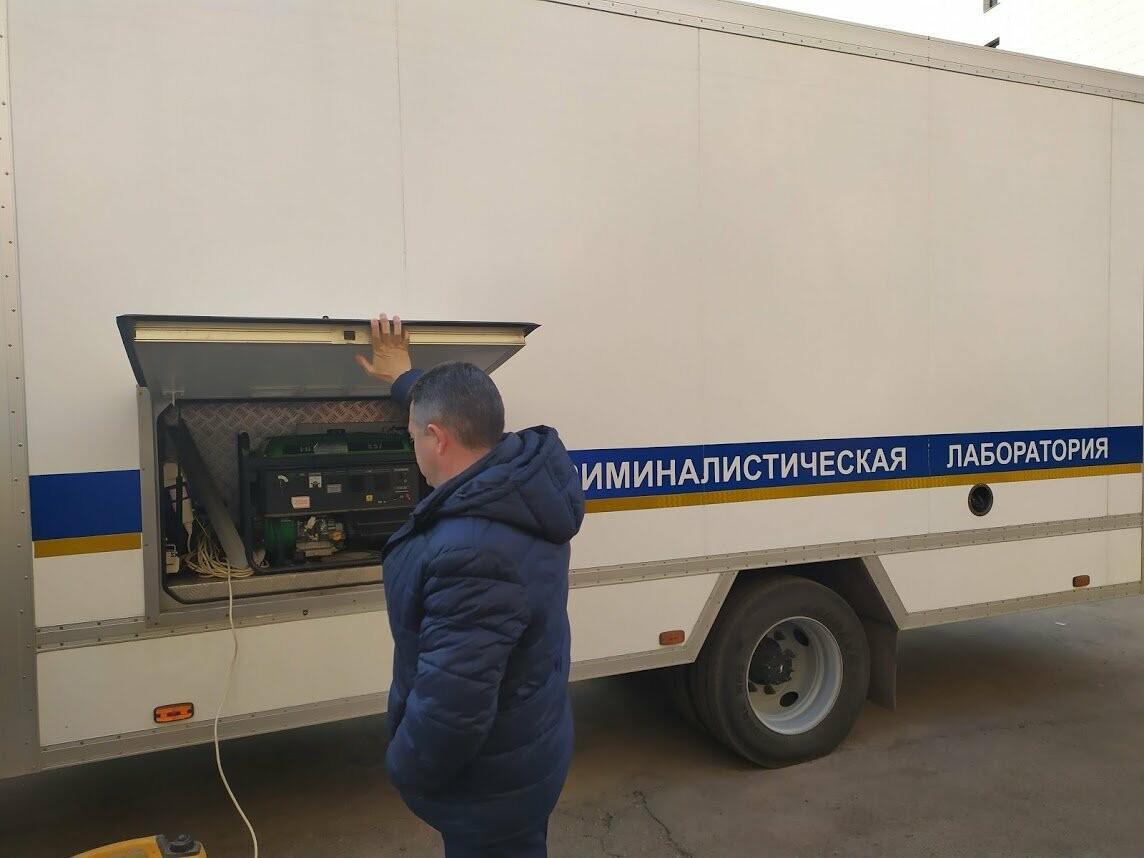Тамбовские полицейские получили современную мобильную криминалистическую лабораторию , фото-3