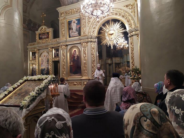 Православные тамбовчане встретили светлый праздник Рождества Христова, фото-6