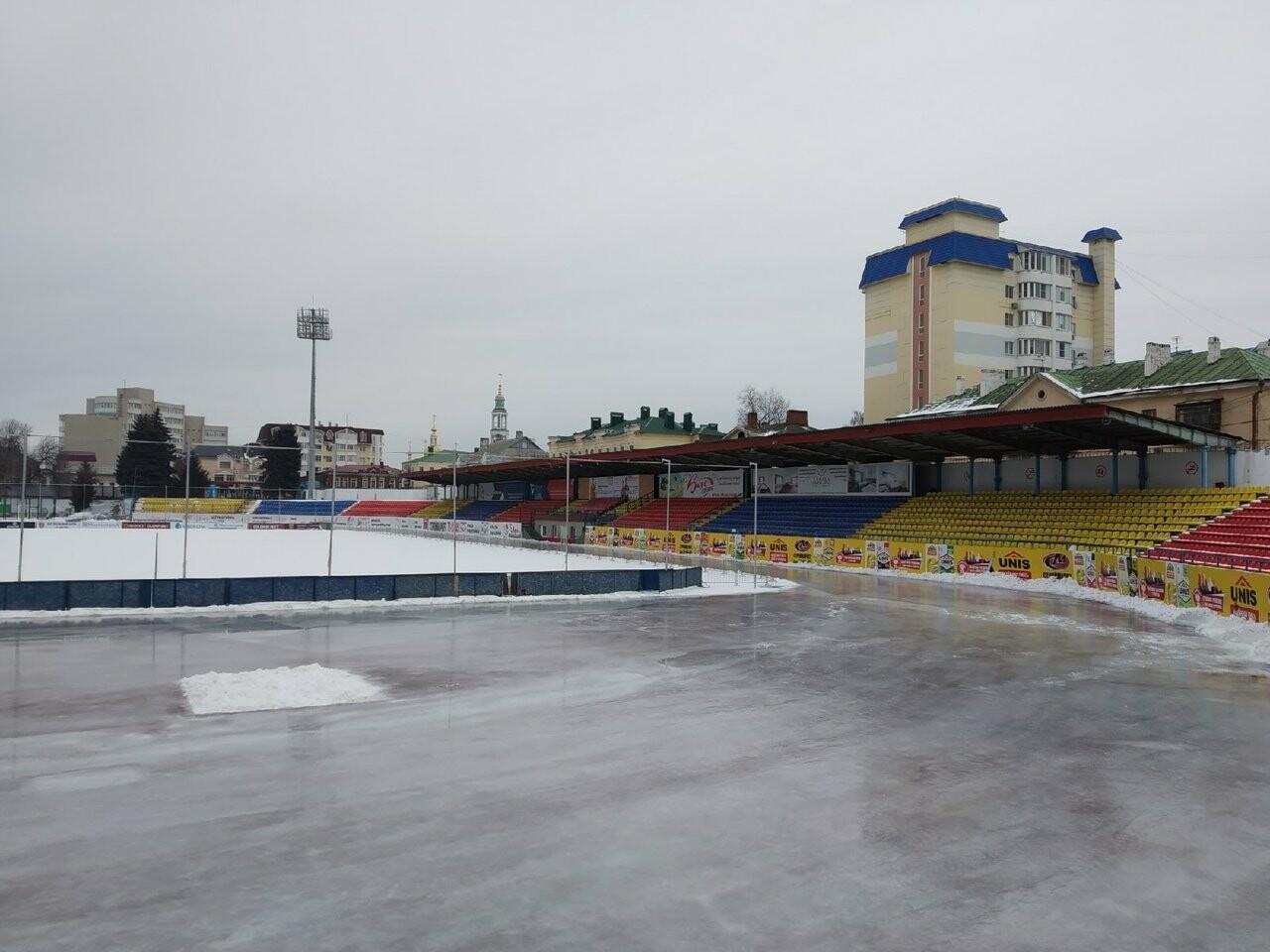 В Тамбове открывают сезон массового катания на коньках на стадионе «Спартак», фото-1