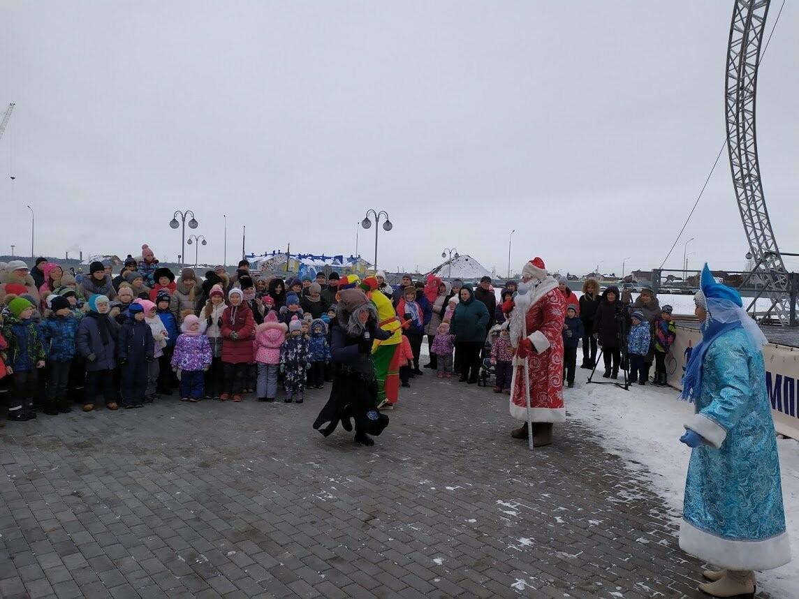 Маленьким тамбовчанам устроили новогоднее представление в Олимпийском парке, фото-3