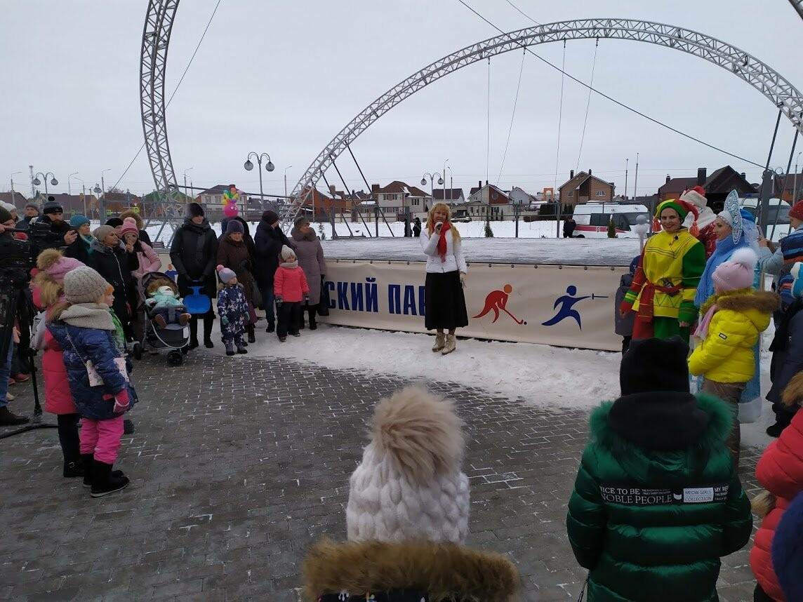 Маленьким тамбовчанам устроили новогоднее представление в Олимпийском парке, фото-8