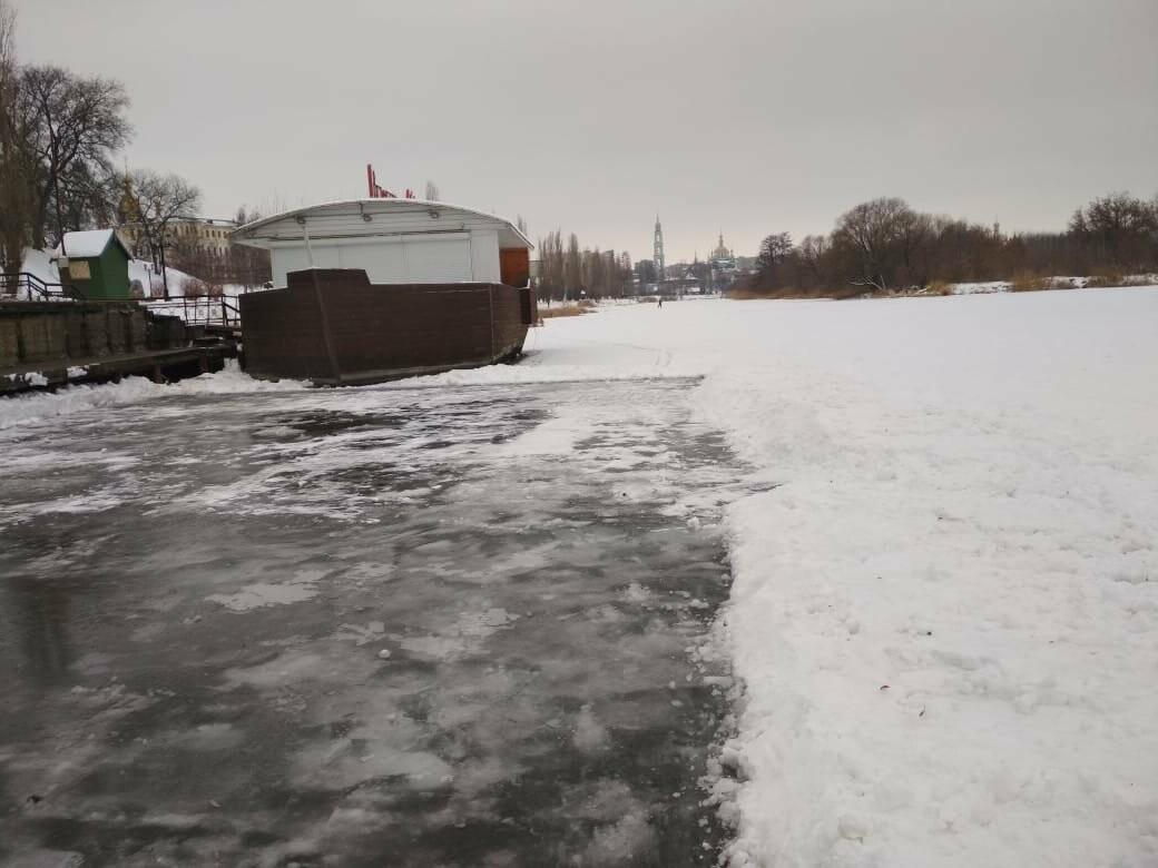 В Тамбове на Набережной начали подготовку купелей, фото-2