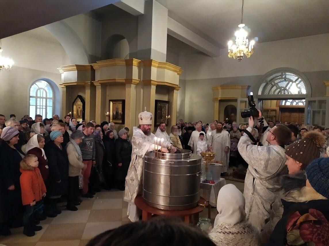 Православные тамбовчане отметили праздник Святого Крещения Господня, фото-6