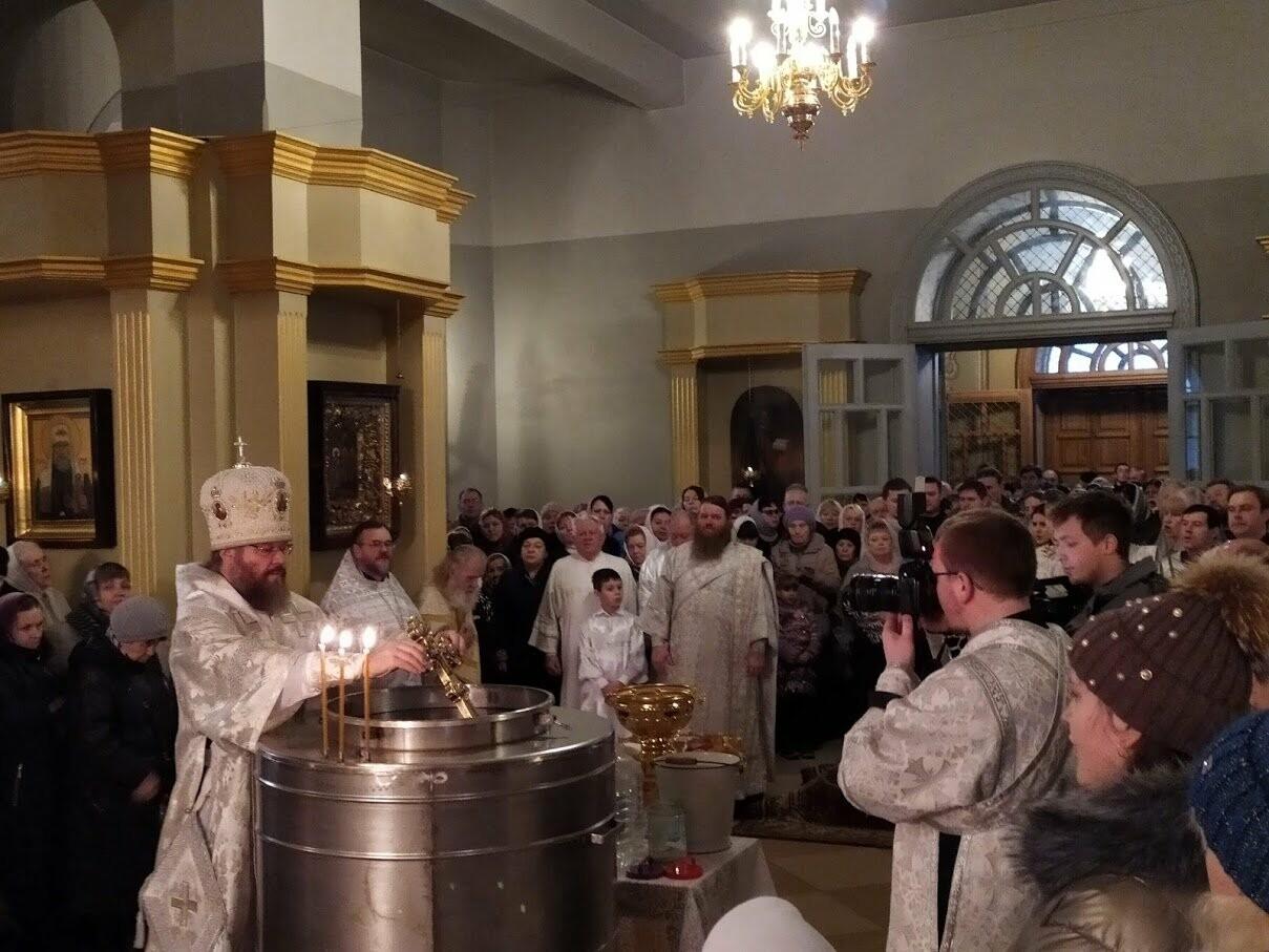 Православные тамбовчане отметили праздник Святого Крещения Господня, фото-7