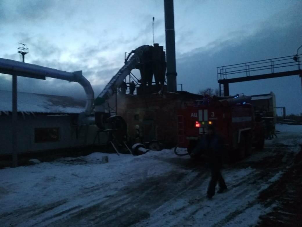 В Тамбове на Бастионной загорелся склад с пиломатериалами на площади 400 кв.м.: видео, фото-2