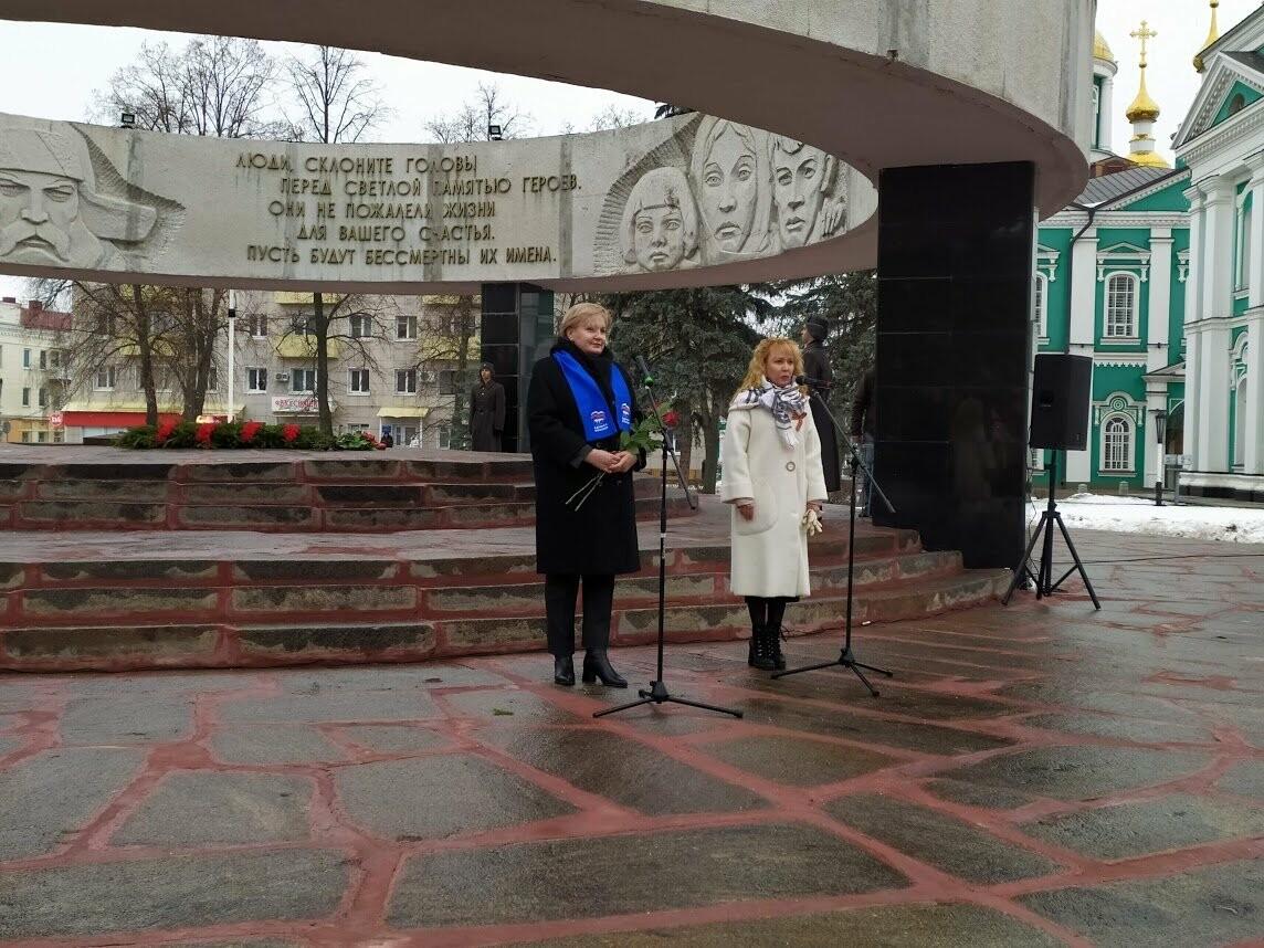 «Живые, помните о нас!»: в Тамбове отметили 76-ю годовщину прорыва блокады Ленинграда, фото-10