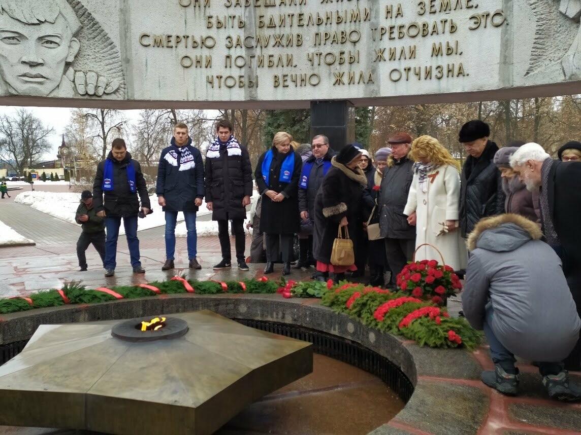 «Живые, помните о нас!»: в Тамбове отметили 76-ю годовщину прорыва блокады Ленинграда, фото-12