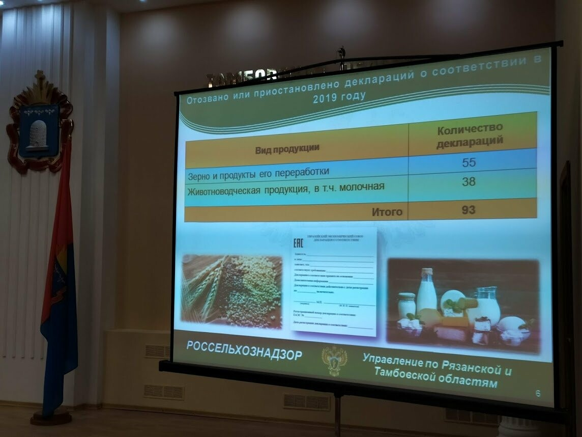 2,5 тонны контрафакта и новые законы: в Тамбове обсудили итоги работы управления Россельхознадзора, фото-1