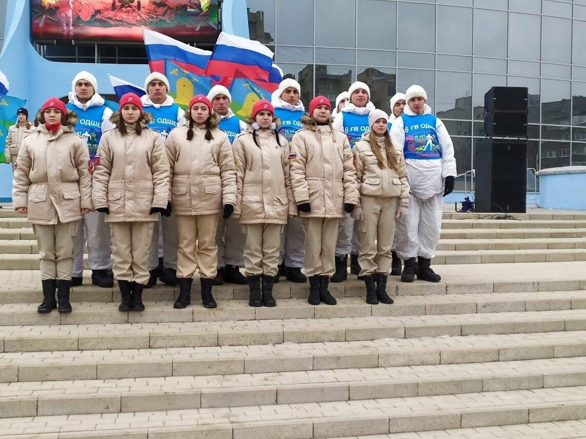 В Тамбов прибыл десант из Камышина в рамках марш-броска в честь 75-летия Победы , фото-2