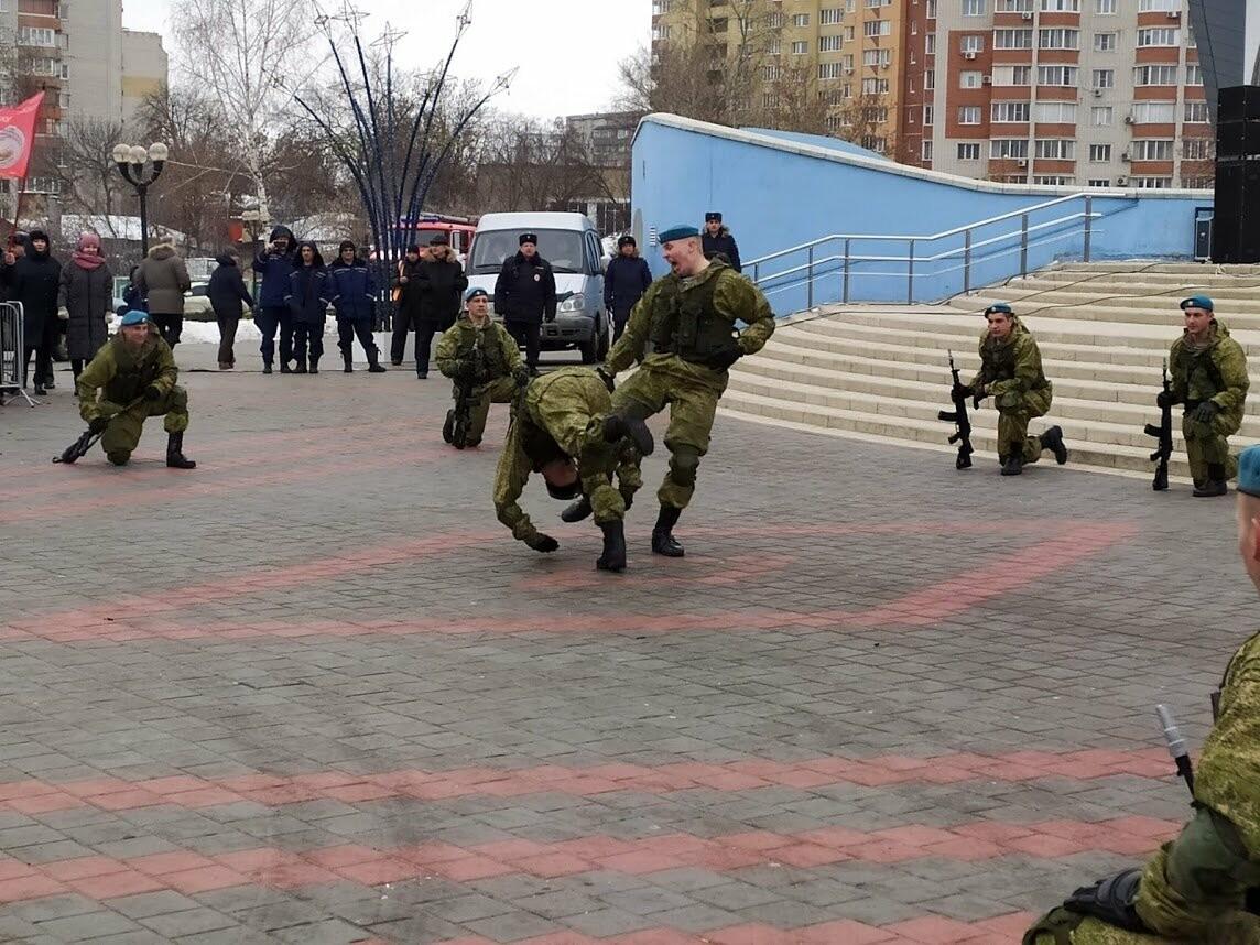 В Тамбов прибыл десант из Камышина в рамках марш-броска в честь 75-летия Победы , фото-4