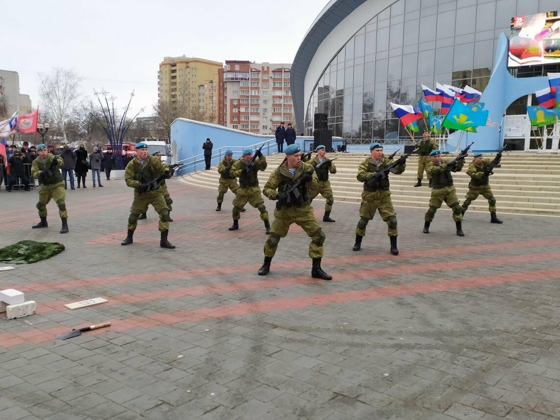 В Тамбов прибыл десант из Камышина в рамках марш-броска в честь 75-летия Победы , фото-5