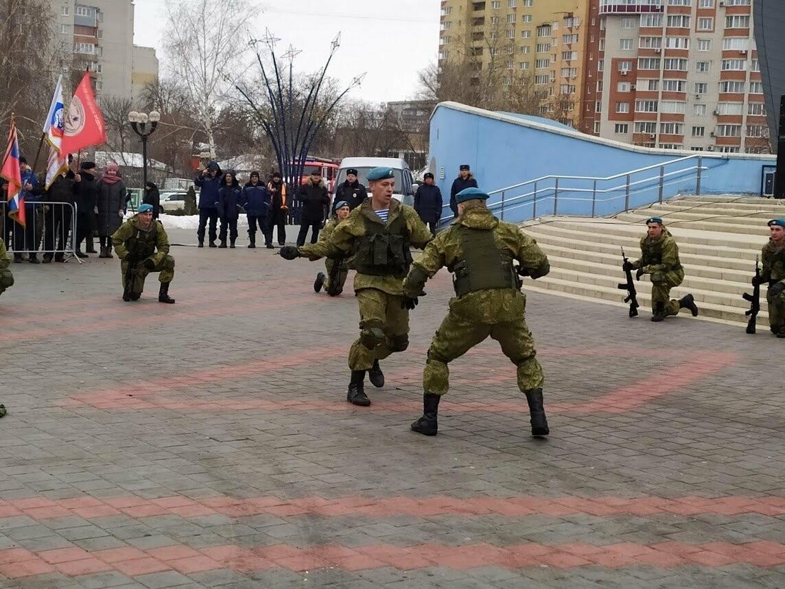 В Тамбов прибыл десант из Камышина в рамках марш-броска в честь 75-летия Победы , фото-6