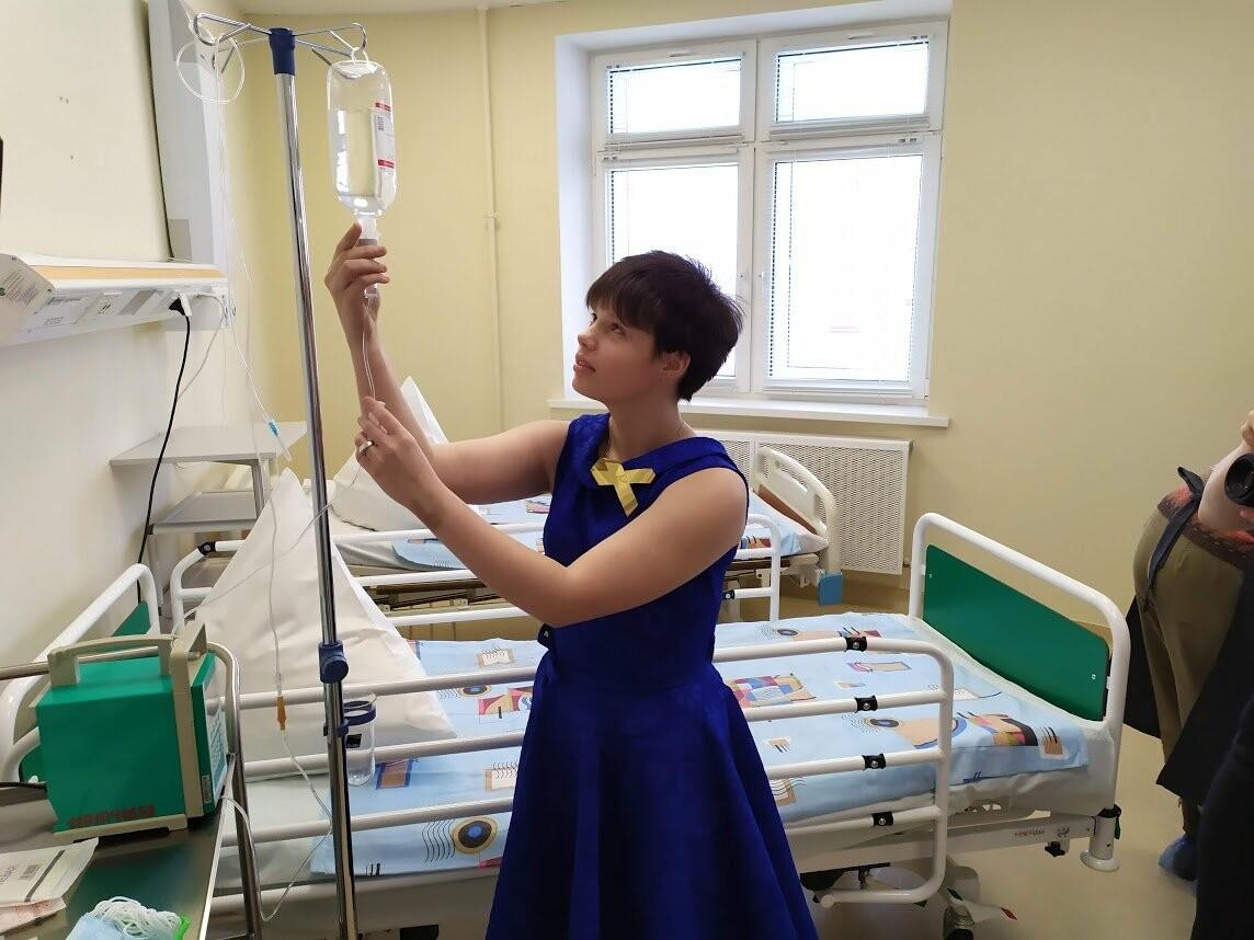 Пациентам онкологического отделения тамбовской детской облбольницы устроили праздник, фото-4