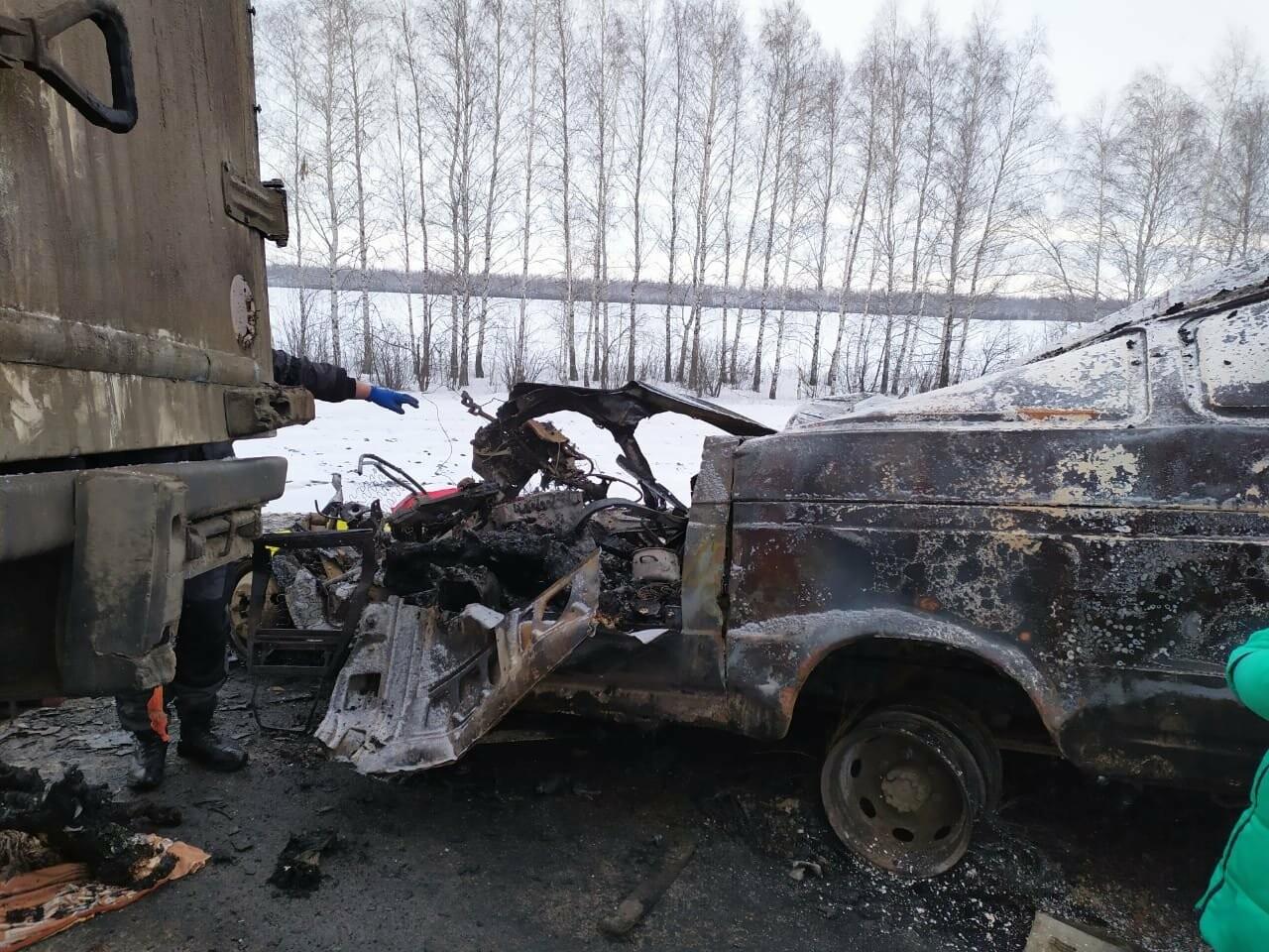 Шесть человек погибли в ДТП на трассе в Тамбовской области: видео, фото-5