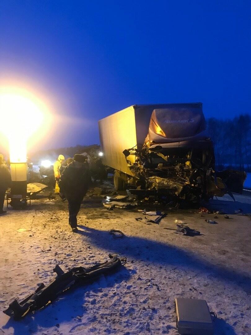 Шесть человек погибли в ДТП на трассе в Тамбовской области: видео, фото-1
