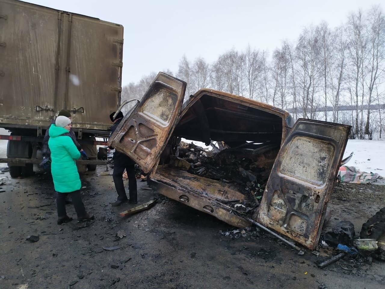 Шесть человек погибли в ДТП на трассе в Тамбовской области: видео, фото-8