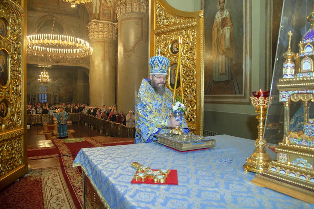 Православные тамбовчане отметили праздник Сретения Господа Нашего Иисуса Христа, фото-3