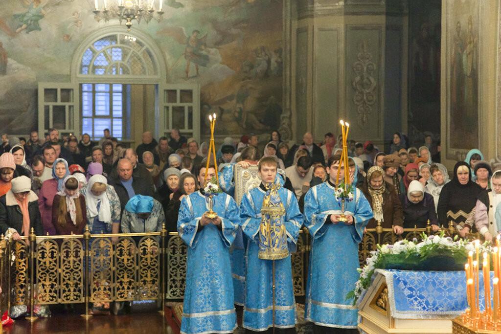 Православные тамбовчане отметили праздник Сретения Господа Нашего Иисуса Христа, фото-4