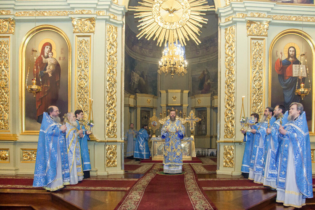 Православные тамбовчане отметили праздник Сретения Господа Нашего Иисуса Христа, фото-6