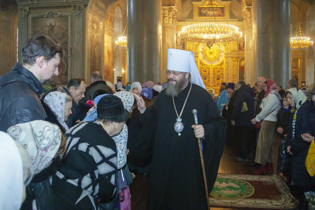 Православные тамбовчане отметили праздник Сретения Господа Нашего Иисуса Христа, фото-8