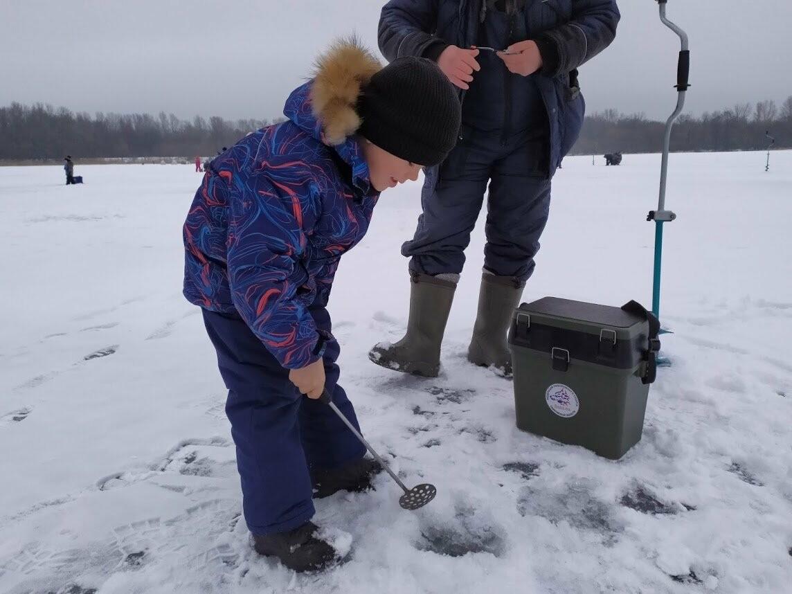 В Тамбове провели детский турнир по зимней рыбалке, фото-3