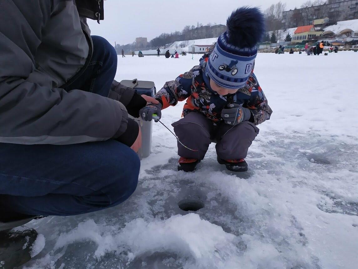 В Тамбове провели детский турнир по зимней рыбалке, фото-6