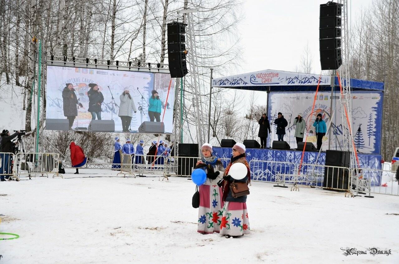 Второй фестиваль «Лысогорские санки» под Тамбовом посетили Баба-Яга и инопланетяне, фото-2