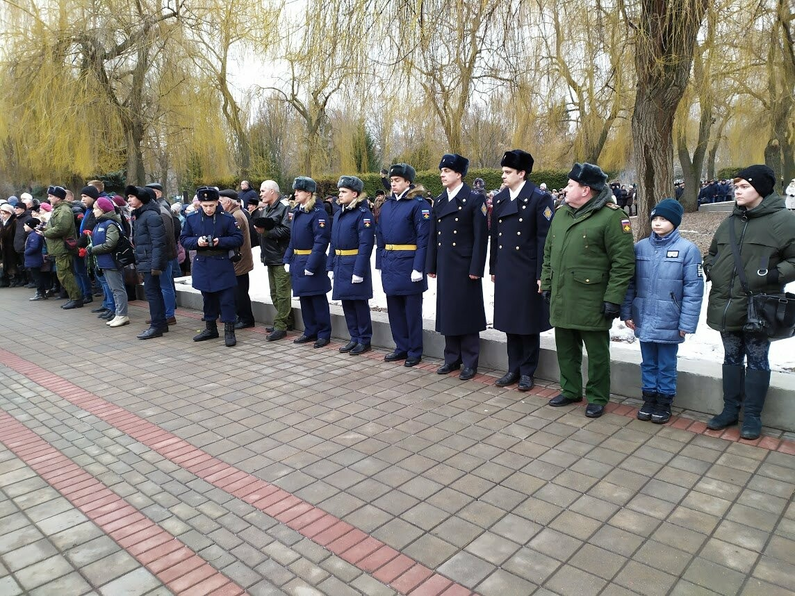 На Воздвиженском кладбище Тамбова почтили память павших воинов, фото-5