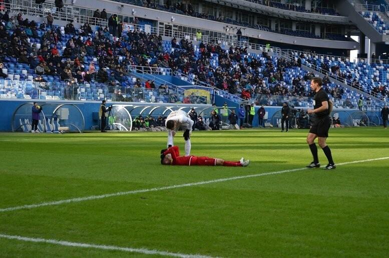 ФК «Тамбов» сыграл вничью с «Рубином»: гол Костюкова отменили, а казанцы едва не опоздали на матч, фото-15