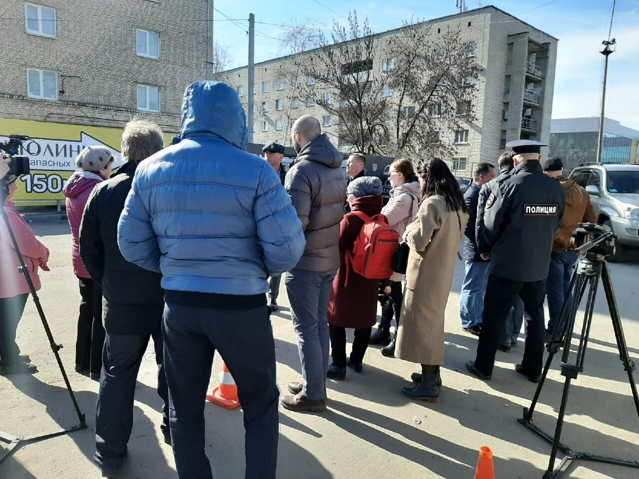 Жители домов в районе автовокзала «Северный» в Тамбове просят пешеходный переход, фото-1