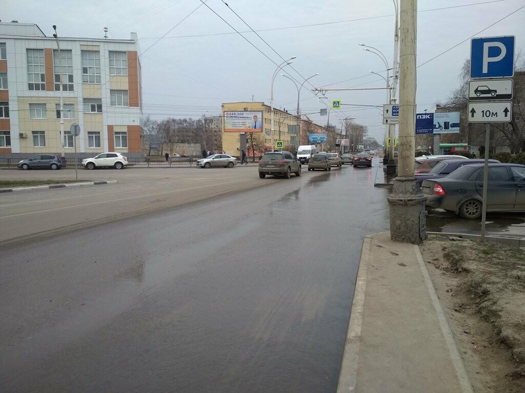В центре Тамбова снова крупная коммунальная авария, фото-5