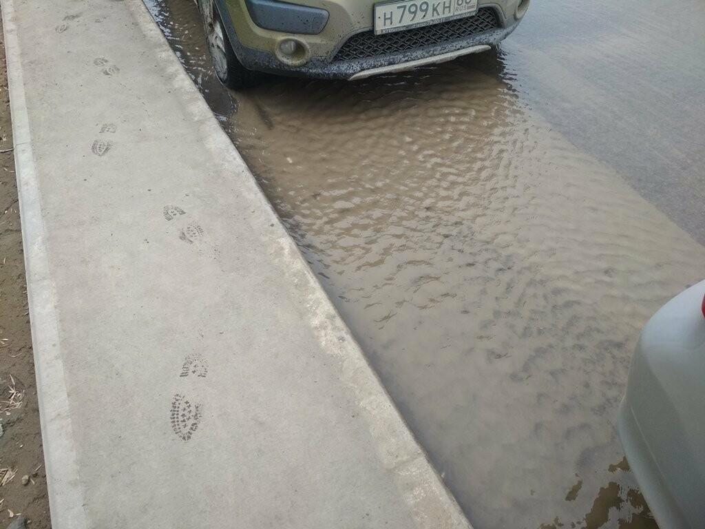 В центре Тамбова снова крупная коммунальная авария, фото-6