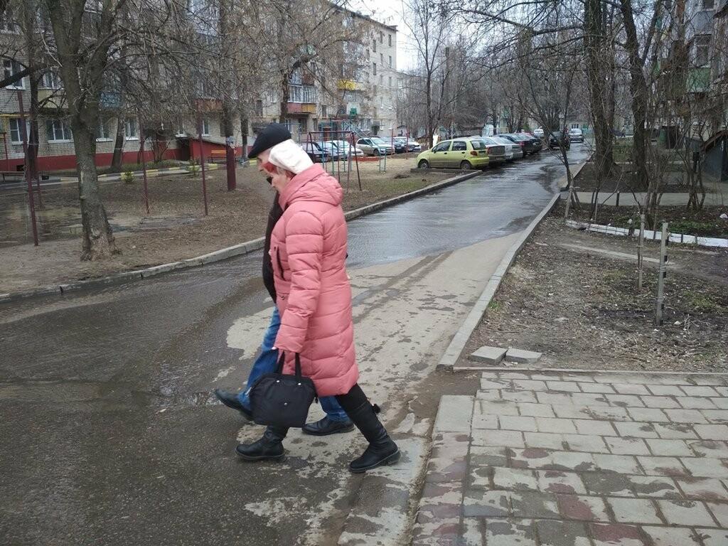 В центре Тамбова снова крупная коммунальная авария, фото-10