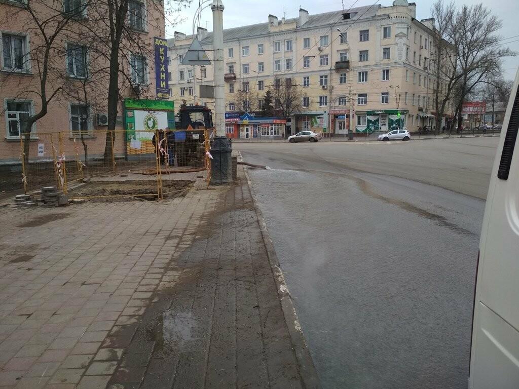 В центре Тамбова снова крупная коммунальная авария, фото-4
