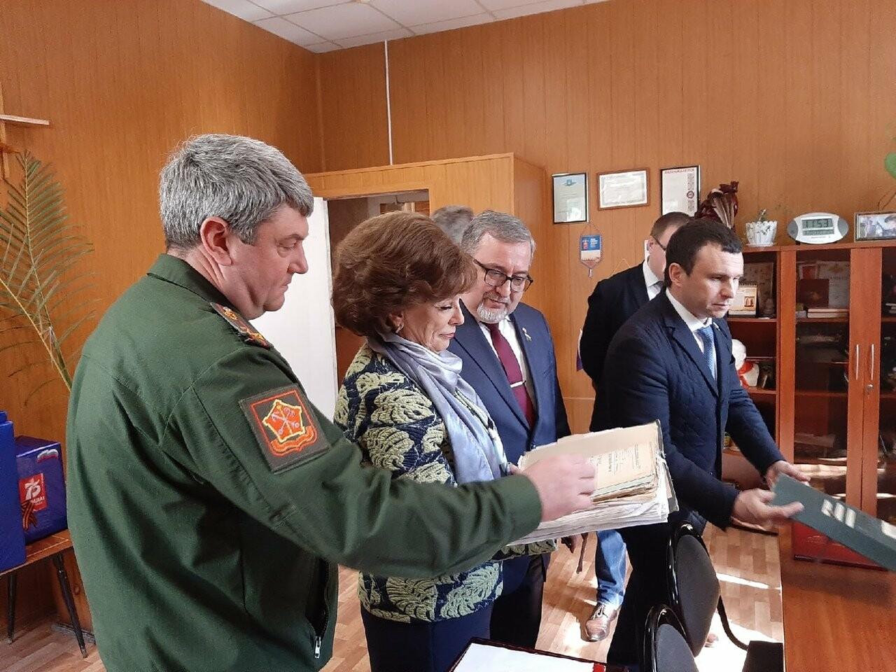 В Тамбовском военкомате продолжают оцифровывать данные ветеранов Великой Отечественной войны, фото-3