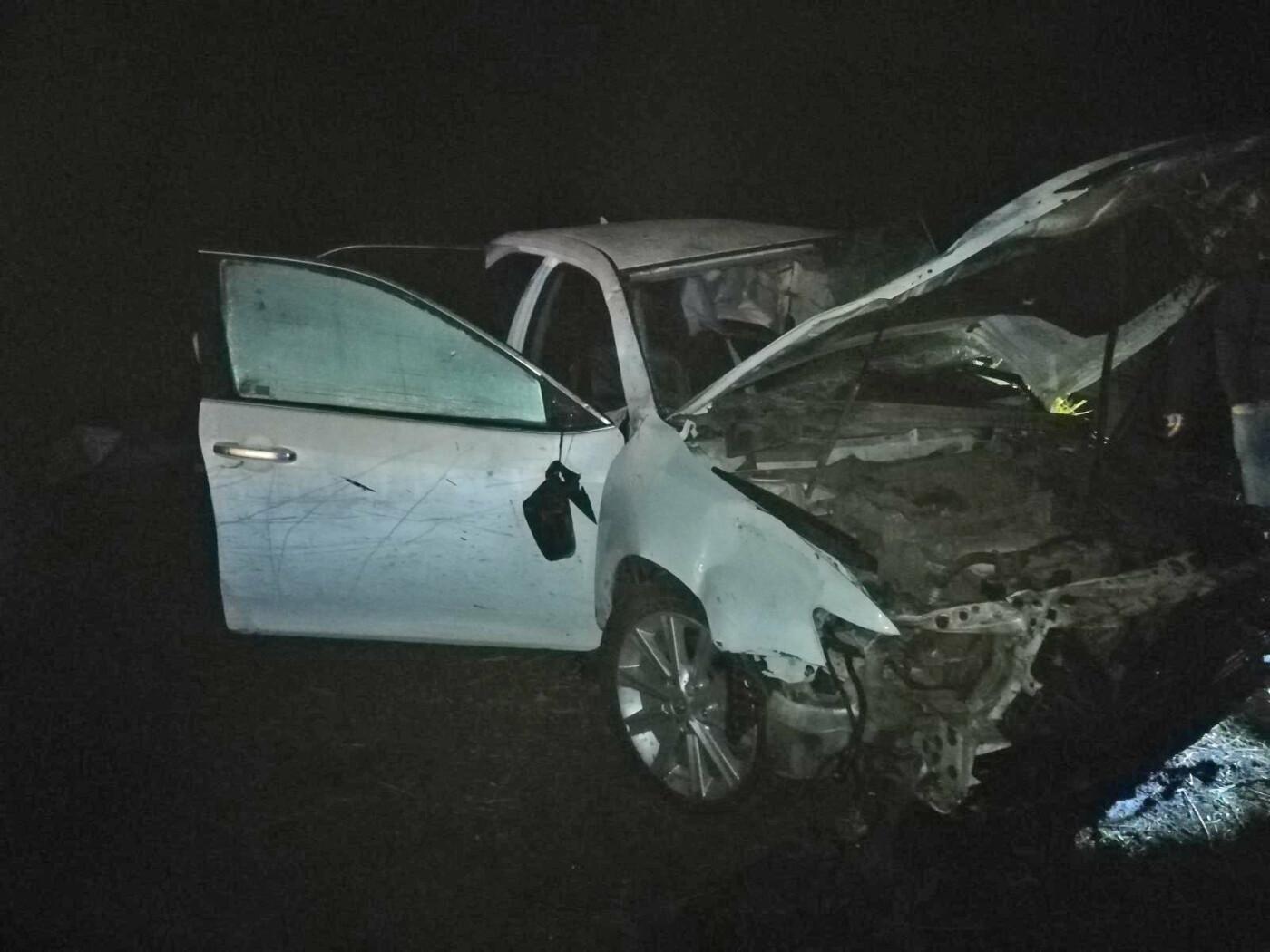 В Жердевском районе перевернулась «Тойота Камри»: один человек погиб, еще трое госпитализированы, фото-1