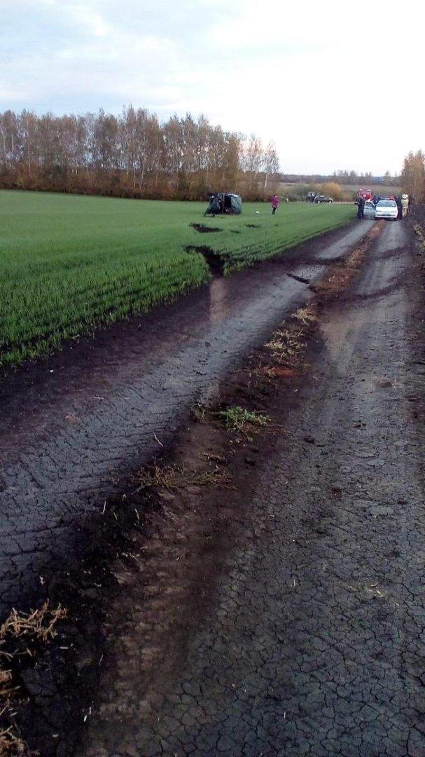 В Тамбовской области в ДТП погиб водитель «Нивы», фото-1