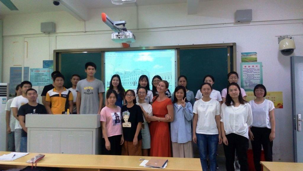 Китайским студентам рассказали о ТГТУ, фото-1