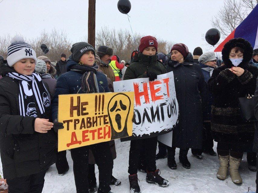 «Мусорные» выходные: в Тамбове и Дмитриевке прошли митинги с общей повесткой, фото-1