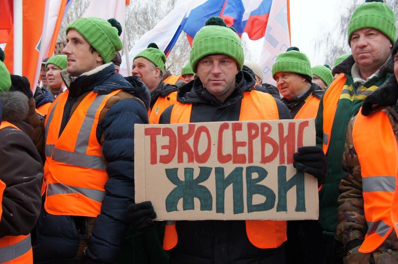 «Мусорные» выходные: в Тамбове и Дмитриевке прошли митинги с общей повесткой, фото-3