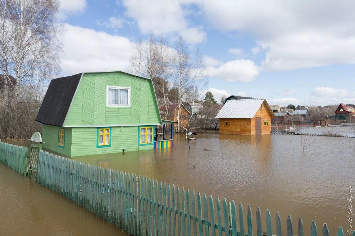 В Тамбове во время паводков может затопить 105 домов и 5 садовых товариществ, фото-1